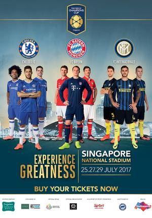 Singapore International Champions Cup Football Package (with flights)