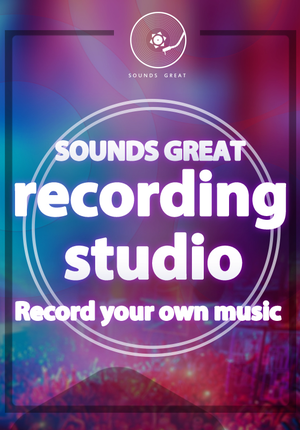 SOUNDS GREAT - Record Your Own Music