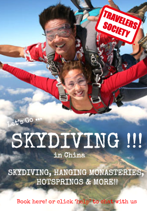 Travelers Society: Let's go skydiving !!! & awesome giant buddha, hotspring & more! ( May Holiday)