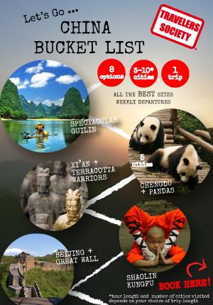 China Bucket List: Hong Kong to Hong Kong (25 days)