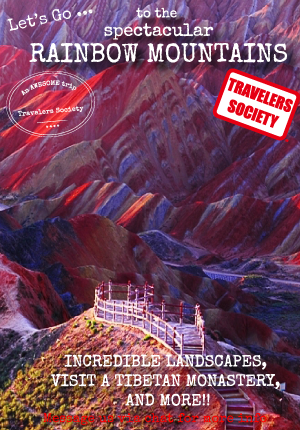 Travelers Society: Let's go...to the Rainbow Mountains!!! (April 4-7)