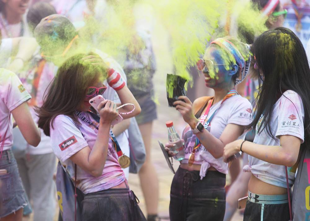 Hot tickets in Shanghai The Color Run