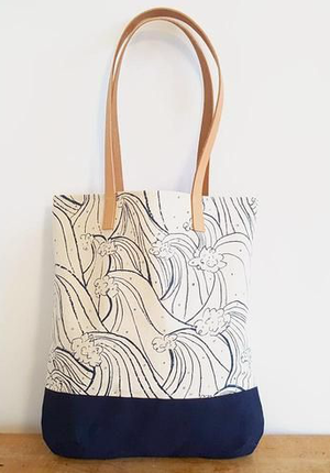 Sew a Tote Bag with Leather Straps