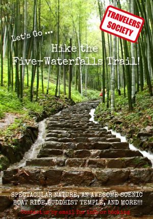 Travelers Society: Let's go...hike the Five-Waterfalls Trail !!! (May 19)