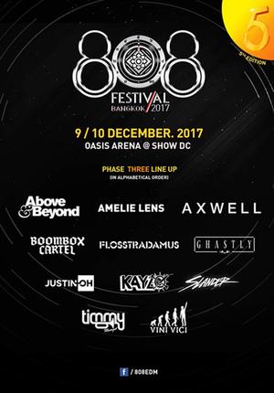 808 Music Festival - Bangkok