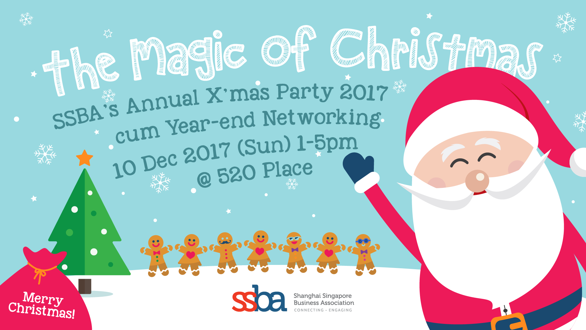 Buy the magic of christmas ssba annual xmas party 2017 cum year event details m4hsunfo Images