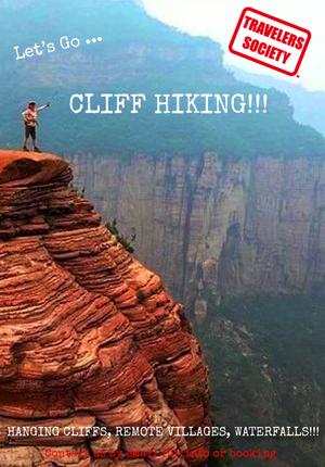 Travelers Society: Let's go…Cliff Hiking!!! (NOVEMBER 23-25)