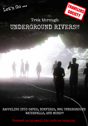 Travelers Society: Let's go…trek underground rivers!!! (April 5-7 over the Tomb Sweeping Festival)