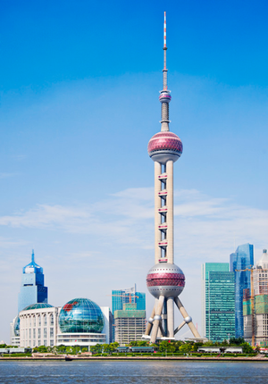 Oriental Pearl Tower (Dongfang Mingzhu)