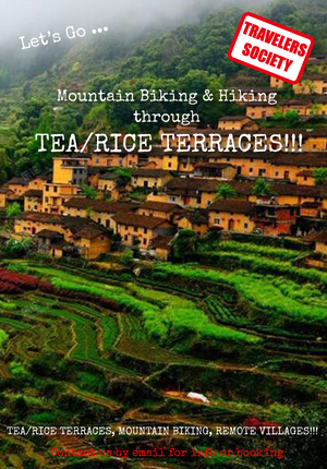 Travelers Society: Let's go... biking and hiking through rice/tea terraces (Oct 4-6)