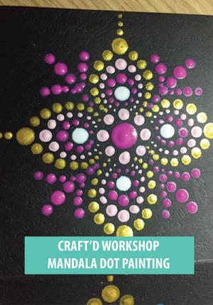 Buy Mandala Dot Painting Experiences Tickets in Shanghai