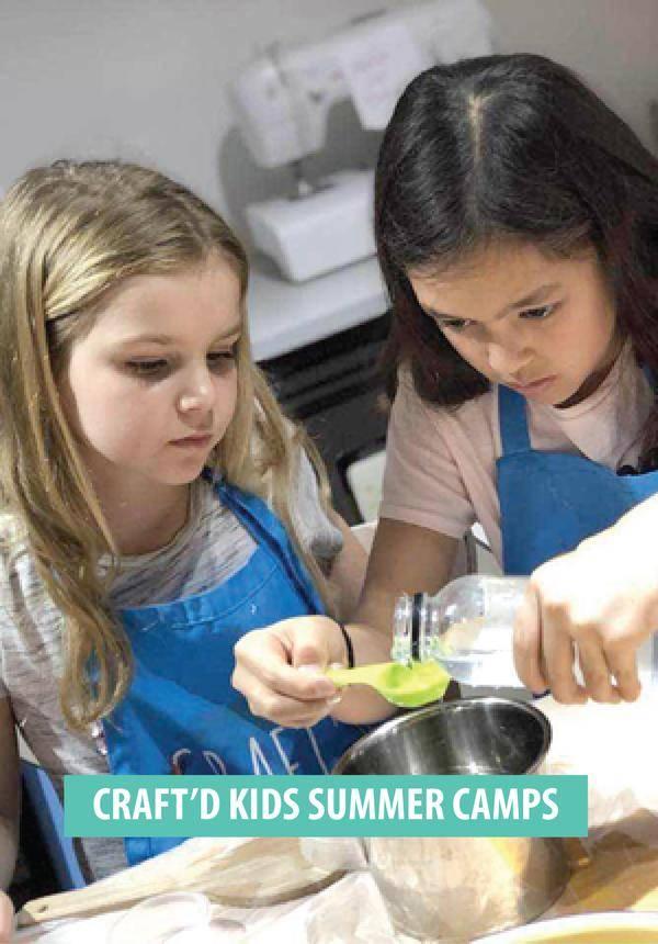 Craft'd Kids Summer Camps
