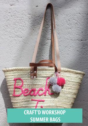 Craft'd Shanghai - Summer Bags