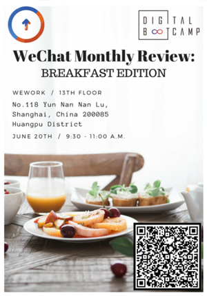 WeChat Monthly Review - Breakfast Edition
