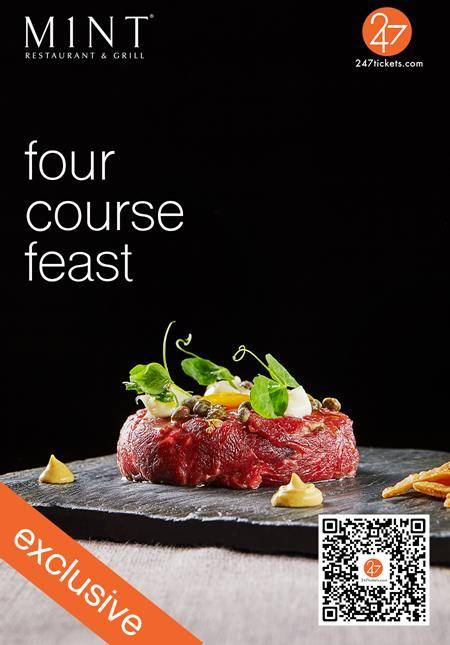 247 Exclusive: M1NT Four-Course Feast