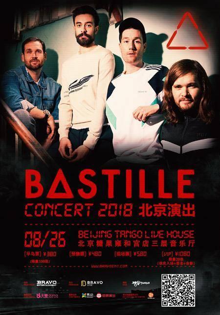 Bastille 2018 Concert in Beijing