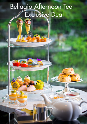Afternoon Tea at Bellagio Shanghai · The Lounge