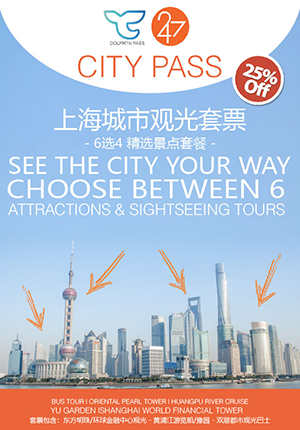 247 Dolphin City Pass - Shanghai