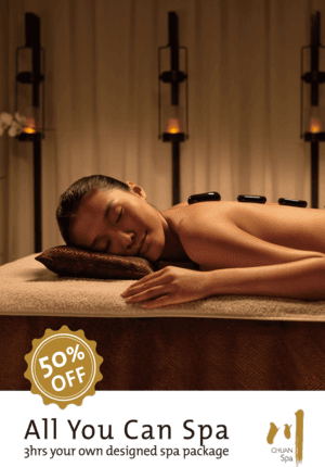 All You Can Spa at Chuan Spa