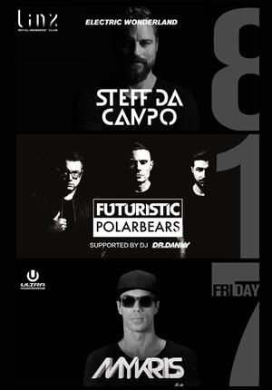 Steff da Campo &  Futuristic Polar Bears & Mykris