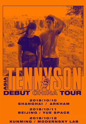 Tennyson Asia Tour 2018