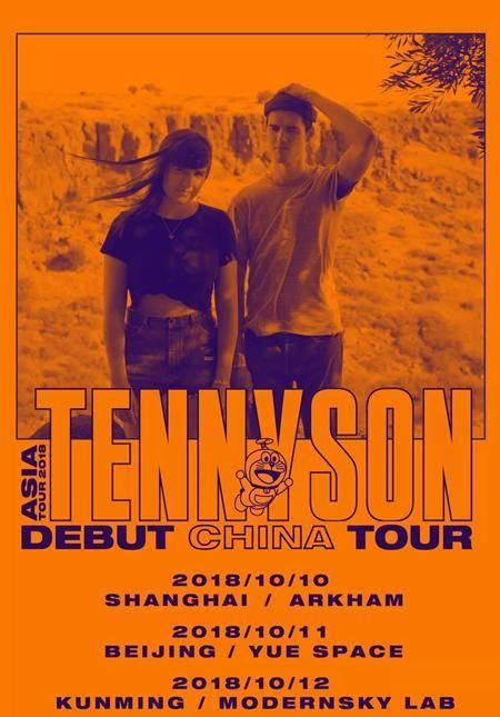 Tennyson Asia Tour 2018