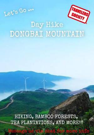 Travelers Society: Let's go…Day Hike on Dongbai Mountain!!!(June 2)