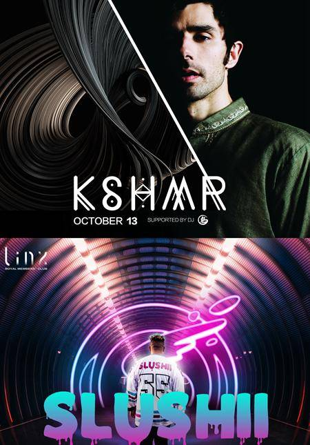 Kshmr & Slushii Oct 12 & 13 at Linx