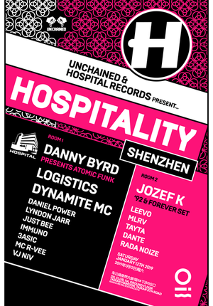 Unchained & Hospital Records Pres. Hospitality