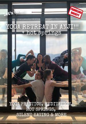 Travelers Society: Let's go… on a Winter Yoga Retreat + Hotsprings in the mountains of Anji! (December 30-January 1)