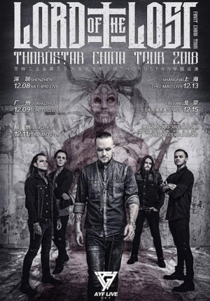 Lord of the Lost Thornstar China Tour 2018 Shanghai