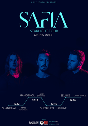 SAFIA Starlight China Tour - Shanghai