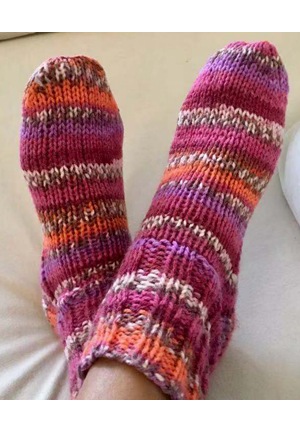 Next Step Knitting: Knit a Pair of Socks!