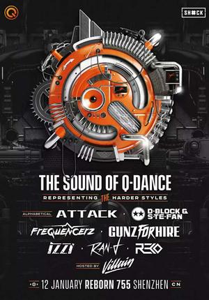 Q-dance × SHOCK Present: The Sound Of Q-dance