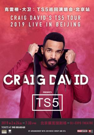 Craig David's TS5 Tour: 2019 Live in Beijing