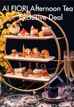 AI FIORI Afternoon Tea Exclusive Deal