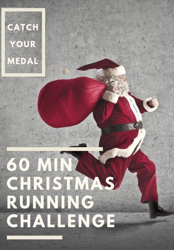 60 Min Christmas Running Challenge