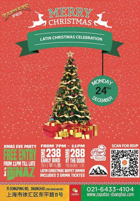 Latin Christmas Celebration @ Zapatas