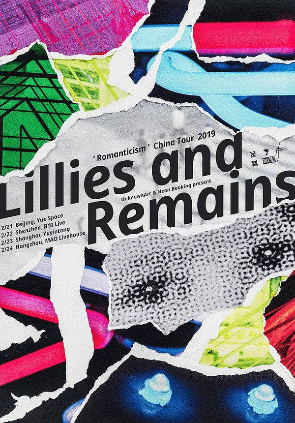 "Lillies and Remains ""Romanticism"" China Tour 2019 - Shanghai"
