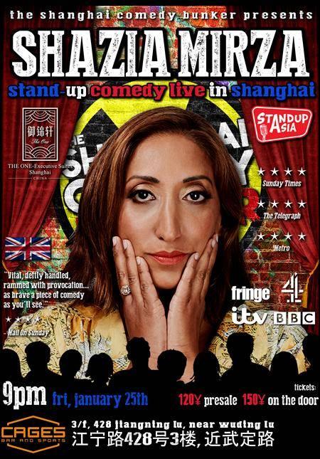 Shazia Mirza Live in Shanghai