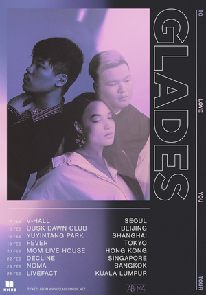 "GLADES ""To Love You"" Album Tour - Shanghai"