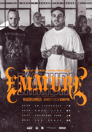 Emmure: Look at Yourself China Tour