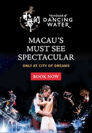 The House of Dancing Water - Macau