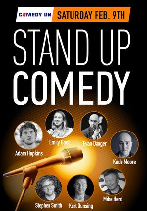 Comedy UN presents Saturday Standup Comedy Showcase