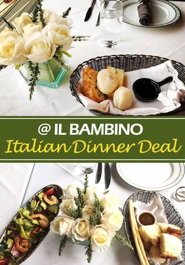 Italian Dinner Deal @ IL BAMBINO