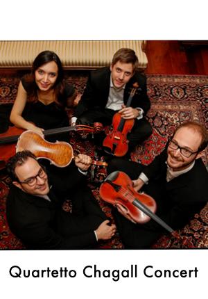 Quartetto Chagall Concert