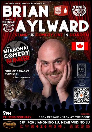 Brian Aylward Live in Shanghai
