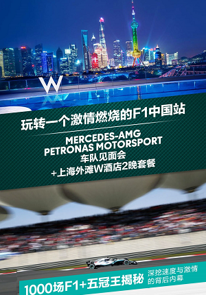 Meet & Greet with Mercedes-AMG Petronas Motorsport Team & 2 Night Stay in W Hotel - Package Deal