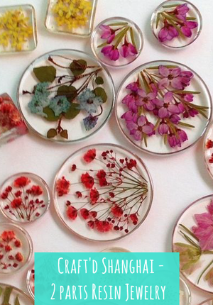 Craft'd Shanghai - Resin Jewelry