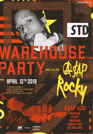 S.T.D. Warehouse Party Hosted by A$AP Rocky